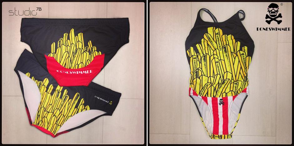 boneswimmer grafiche costumi da bagno e magliette by
