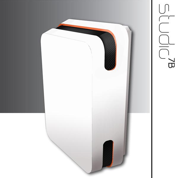 radiatore a gas di design