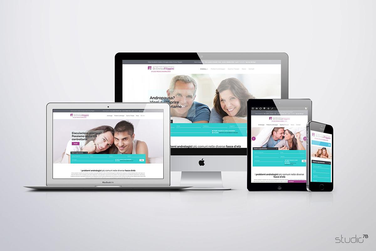 Andrologia Lombarda - Sito web responsive