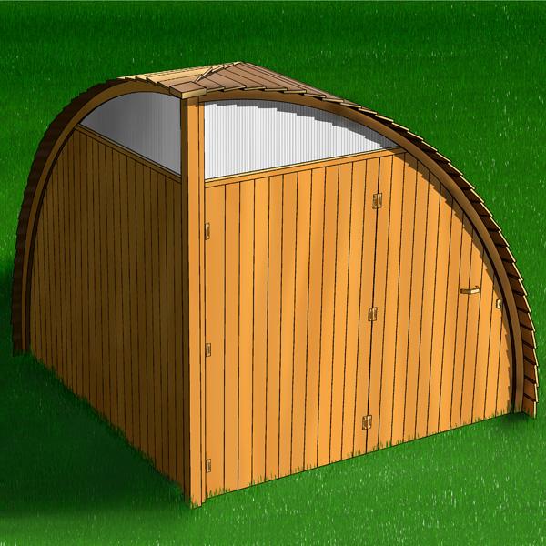 Onda   casetta in legno   studio7b