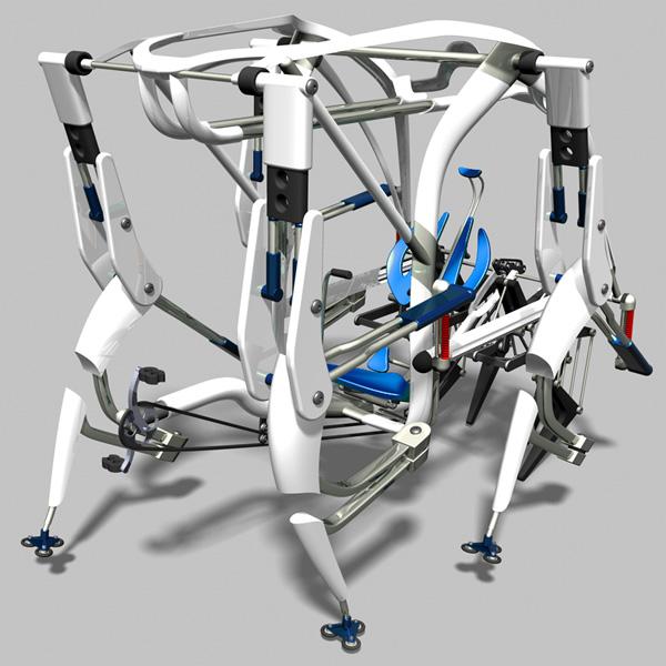 ansata veicolo su zampe concept design