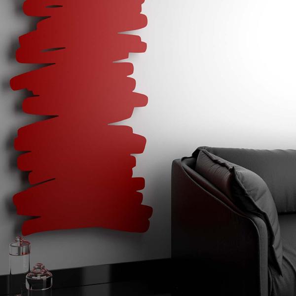 PARALLAX radiatore termoarredo - design by Giovanni Tomasini - Studio7B per hotech