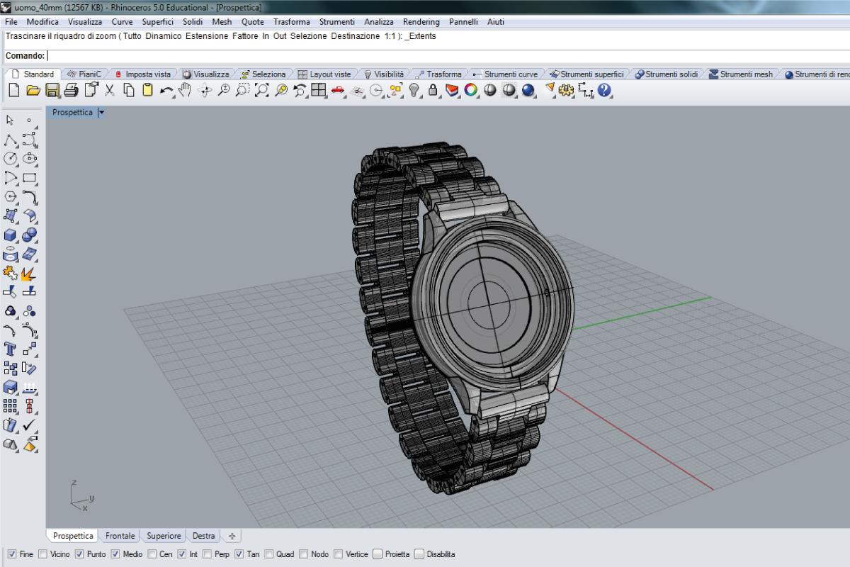 Rhinoceros formatore autorizzato studio7b for Modellazione 3d gratis